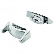 Adaptor argintiu curea smartwatch pentru Samsung Gear S2