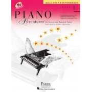 Piano Adventures, Level 1, Gold Star Performance [With CD (Audio)], Paperback