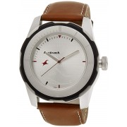 Fastrack Economy 2013 Analog White Dial Men's Watch -NK3099SL01