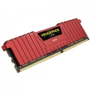 DDR4, 8GB, 2400MHz, CORSAIR Vengeance Red, CL16 (CMK8GX4M1A2400C16R)