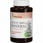 Vitaking Multi Mega Mineral tabletta, 90 db