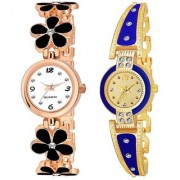 New Arrival Stylish Attractive Exclusive Collection Pack Of 2 Combo Analog Watch - For Women