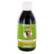 Sirop tratare probleme respiratorii caini si pisici Bronarome 240 ml .