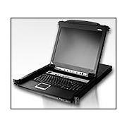 "ATEN CL5716M :: 16-Port Slideaway™ LCD KVMP превключвател с 17"" LCD Console"