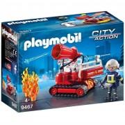 Playmobil city action robot dei vigili del fuoco 9467
