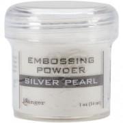 Ranger Embossing Powder, 1-Ounce Jar, Silver Pearl