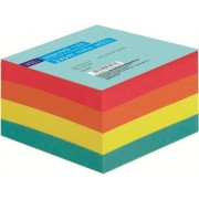 Rezerva cub de hartie color RTC, 90 x 90 mm, 80 g/mp, 500 file