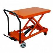 Rolléco Table élévatrice manuelle surbaissée Charge 500 kg