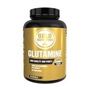 Glutamina para recuperação muscular e reforço do sistema imunitário 90cápsulas - Gold Nutrition