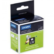 Dymo 11353 (S0722530) Etiket Zwart op wit (25 mm x 13 mm)
