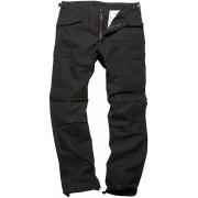 Vintage Industries M65 Heavy Satin Pants Black S