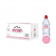 Evian sport cap 0.75 L x 12 pack PET