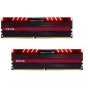 16GB (2x8GB) DDR4 3000MHz, Team Group Delta Red, TDTRD416G3000HC16CDC01, 1.35V
