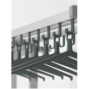 Ilium W2 Wandschrank schwarz/grau