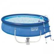 Надуваем басейн INTEX Easy Set, 457 х 107 см. с филтърна помпа, 7526166