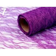 Rola dantela decor 48-50 cm x 450 cm - violet