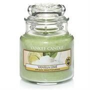 Yankee Candle Vanilla Lime Small Jar Retail Box