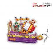 Tunul clovnului - Colectia de puzzle 3D Lumea Circului