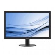 """Монитор 23.8"""" (60.45 cm) Philips 240V5QDAB, IPS-ADS панел, Full HD, 5 ms, 10 000 000:1, 250cd/m2, HDMI, DVI"""