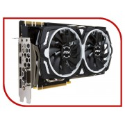 Видеокарта MSI GeForce GTX 1070 Ti 1607Mhz PCI-E 3.0 8192Mb 8008Mhz 256 bit DVI HDMI HDCP GTX 1070 TI ARMOR 8G