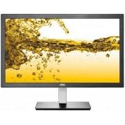 "Monitor IPS LED AOC 23.8"" I2476VXM, Full HD (1920 x 1080), VGA, HDMI, 5 ms (Negru/Argintiu)"