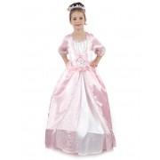 Vegaoo Underbar prinsessa - utklädnad barn 110 - 120 cm S (4 - 6 år)
