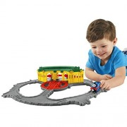 Fisher-Price Thomas the Train Take-n-Play Tidmouth Sheds Adventure Hub