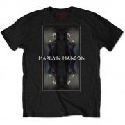 Tricou Marilyn Manson: Mirrored