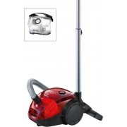 Прахосмукачка, Bosch BGL2UA2008, 600W, 80dB(A), Cherry red