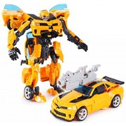 Spgift Transformers Leader Class Bumblebee Robot to Car Converting Figure