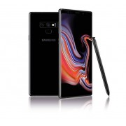 "Samsung Smartphone Samsung Galaxy Note 9 Sm N960f Dual Sim 6.4"" Dual Edge Super Amoled 512 Gb Octa Core 4g Lte Wifi 12 Mp + 12 Mp Android Refurbished Midnight Black"