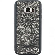 Husa Capac Spate Spirit Natural Negru SAMSUNG Galaxy S6 Edge YUPPI LOVE TECH