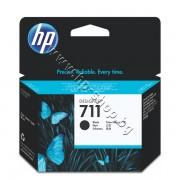 Мастило HP 711, Black (80 ml), p/n CZ133A - Оригинален HP консуматив - касета с мастило