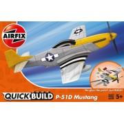 MACHETA AVION DE CONSTRUIT MUSTANG P-51D - AIRFIX (AFJ6016)