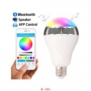 Becul SMART Bluetooth Boxa + Stativ Universal, Adaptor Priza