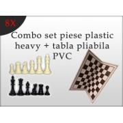 Combo set piese plastic heavy tabla pliabila PVC 8 seturi