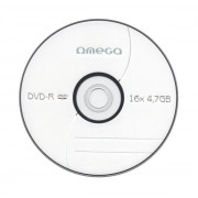DVD-R OMEGA 4.7GB 16X SLIM CASE 10 PACK