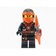 LEGO Ninjago Deepstone Kai Ninja Minifigure Red Aeroblade