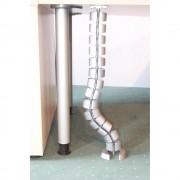 hjh OFFICE PRO CKVE Spirale pour câbles verticale - argent