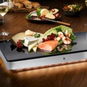 WMF Ambient Kühl- & Wärmeplatte, 4 Termperaturstufen, LED-Beleuchtung, 50 x 26 x 5,5 cm