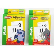 Playskool Addition & Subtraction Flash Cards Set Of 2