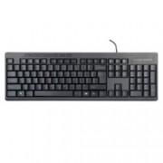 Клавиатура DELUX DLK-6300U, черна, USB