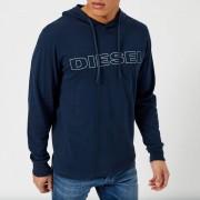 Diesel Men's Jimmy Overhead Hoody - Navy - M - Navy