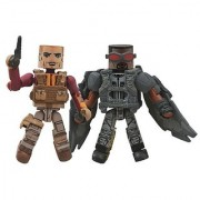 Diamond Select Toys Marvel Minimates Series 55 Captain America The Winter Soldier The Falcon & Batroc Action Figure (2-Pack)