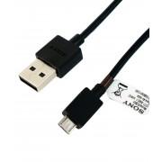 Sony microUSB Data Cable EC803 - microUSB кабел за Sony и мобилни устройства с microUSB (100 cm)