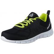 Reebok Men's Sprint Affect Black/Gry/Yellow/White Running Shoes - 8 UK/India (42 EU) (9 US) (CN1953)