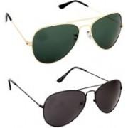 HE Aviator, Wayfarer Sunglasses(For Boys)