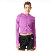 adidas Women's Pure X Running Jacket - Purple - M - Purple