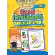 Jocuri pentru copii inteligenti. Carte de activitati +6 ani