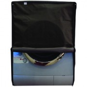 Glassiano Coffee Waterproof Dustproof Washing Machine Cover For Front Load Haier HW55-1010 5.5 kg